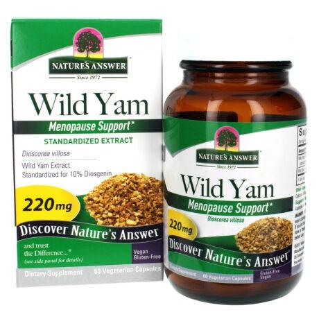 Wild Yam 60ct