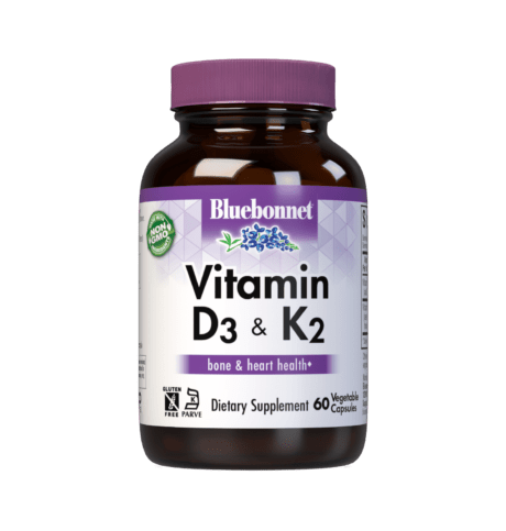 Vitamin D3 and K2