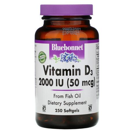 Vitamin d3 2000iu 250